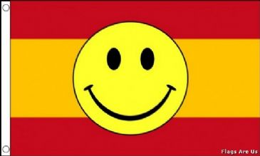 Spain Smiley Face